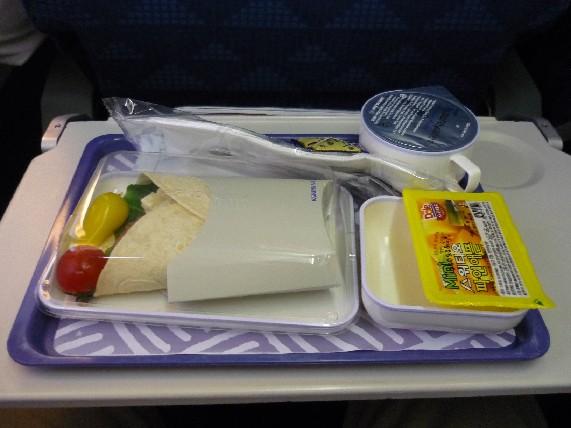大韓航空機内食(2009/09/12)